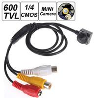 Wholesale mega pixels camera for sale - Group buy Mini TVL inch CMOS HD Sensor Mega Pixel Smallest Cone Video Camera CCT_523