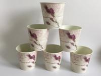 ingrosso negozi di lavanda-Corlorful Mini Vase Metal Planter Vaso vasca lavanda modello Decorativo per la casa vasi di fiori Negozio Decorazione del partito