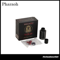 Wholesale Original Any - Authentic Digiflavor Pharaoh Dripper Tank a RiP Project Spring loaded Clamps Support Any Kind of Coil Pharaoh Tank 100% Original