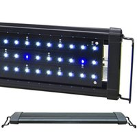 ODYSSEA 12 '' Aquarium HI Lumen LED Light 42 LEDs Apparecchio di illuminazione Beamworks per acquari marini tropicali Fish Tank 30-45 cm