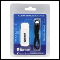 Wholesale Bt Car Audio - BT-163 Audio Music Receiver A2DP 5851S EDR 2.1 Wireless Car Bluetooth Receiver Adapter Kit 3.5MM AUX Audio Stereo Music