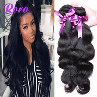Wholesale Top Hair Sellers - DHL free shipping wholesale price 100% human remy hair 7A cheap Brazilian body wave weave hair 4pcs lot best DHgate sponsor TOP SELLER
