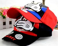 Wholesale China Children Caps - Children's mickey Minnie baseball hat Han edition of lovely hat Spring and summer the new hat make in china A2016051910