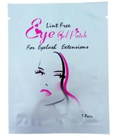 Wholesale Silk Eyelashes Extensions - 50 pairs ,Eyelashes eye mask under eye patch,eyelash extension silk eye pads from south korea free shipping