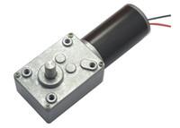 Wholesale Reducer Motor - DC12V Worm Geared Motor, Worm gear,dc motor turbine worm reducer, Rated speed 16~470 RPM, High Torque