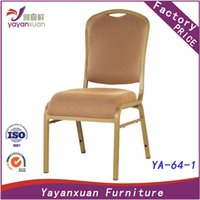 Wholesale Aluminun Restaurant Stackable Chair with High Quality at Factory Price