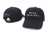 Wholesale Brown Friends - 2016 Real friends snapback caps I feel like Pablo Kanye pablo Toronto pablo San Francisco trending rare fall hat famous hat baseball cap