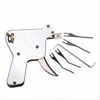 anahtar silahlar toptan satış-Yeni Güçlü EAGLE Kilit Seçim Silah Çilingir Araçları Kilit Seçim Seti Kapı Kilidi Açacağı Lockpick Toplama Aracı Yumru Anahtar Asma Kilit