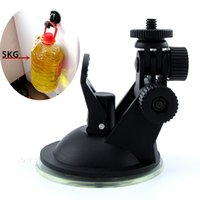 Wholesale Dv Mounting - Wholesale-2016 New Car Holder Auto Sport DV Sport Camera Window Mount GPS DVR Holders Driving Recorder Suction Cup Bracket Free Shipping