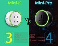 ingrosso microinterruttori remoti-Più nuovo Mini K Pro Smart Socket Wifi Smart Home Phone Micro Switch Remote Control Plug Protezione di protezione Temporizzazione e ritardo 2016 nuovo