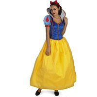Wholesale Sexy Snow White Games - Wholesale-Adult Snow White Costume Sexy Snow White Cosplay Fantasia Halloween Costumes For Women Princess Dress Fancy party dress