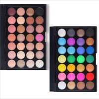 Wholesale Eye Shadow Small Palette - 2017 Eye Shadow Professional Makeup Star 28 Color Pearl Multicolor Small Cap Portable Palette Blink Shining Jelly Naked Tech Health Beauty