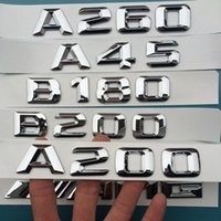 Mercedes-Benz original emblem - CE quality original ABS Emblem A45 A180 A200 A250 A260 A160 matic A for Germany car M A cla