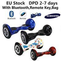 Wholesale Remote Skateboard - EU Stock Samsung Smart Electric Balance Wheel Scooters 10 inch Two Wheels Balancing Scooter Hoverboard Bluetooth Remote Carry Bag Skateboard