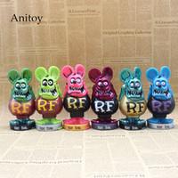 Wholesale big head action figure resale online - Rat Fink BIG DADDY Bobble Head PVC Action Figure Collectible Model Toys cm KT3748