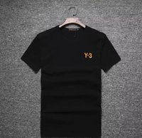Wholesale Ms Tees - New In the summer top quality Couple Lovers T-shirt MEN Ms Women Camisetas Mujer Tees Men Short Sleeve O-neck Y3 Casual T Shirts
