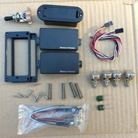 Wholesale Guitar Active - Seymour Duncan Electric Guitar Active pickups with 4 pieces 25k complete set of line Guitar parts In Stock Free Shipping