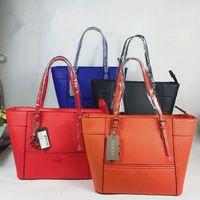 Wholesale Orange Buckets - 2017 famous Brand women Printed fashionlarge capacity bag Delaney Cross pattern Petite Tote Handbag With Crossbody Strap free shipping