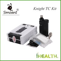Kit cavallerizzante kit TC 60W Knight V1 TC Mod Single 18650 batteria con caricamento in ottone Top Taline V1 100ml Original