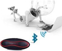 мини-футбол бесплатная доставка оптовых-Бесплатная доставка X6 мини-футбол беспроводной динамик Bluetooth портативный аудиоплеер музыкальный динамик новый altavoz Bluetooth