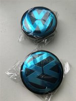 Wholesale Vw Car Prices - 56mm 65mm ABS Wheel Centre Center Cap Caps Car Badge Emblem Emblems for VW Volkswagen Cheapest Price