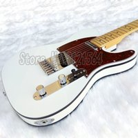 Wholesale Custom Tl - Free shipping! china custom shop Tele TL Electric guitar telecaster white color body 6 strings hardware
