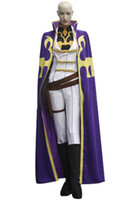 Wholesale custom code geass cosplay online - Role Playing Japanese Anime Code Geass Nonette Enneagram Cosplay Costume Unisex Halloween Party Apparel Outfits White
