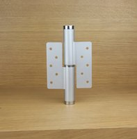 Wholesale Positioning Hinges - 6 inch Invisible door aluminum alloy hydraulic pressure mute door hinge buffering positioning automatically closed door closer left hinge