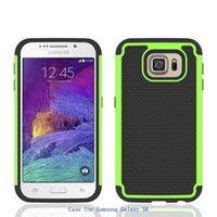 Wholesale Cover Follows - new cell phone case for apple iphone 7 6s Galaxy samsung s7 s7edge s6 dust drop cover waterproot rugged shell anti-skiddev strong following