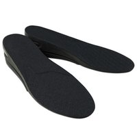 Wholesale shoe pads increase height online - 2 Layers cm Men Insoles Air Cushion Height Increase Elevator Insole Shoe Pads Lifts Inserts Pad Shoes Accessories