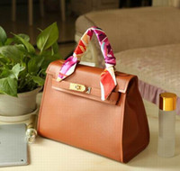 Wholesale Cheap Brown Totes - Free Shipping New Arrival Female PU cheap fashion bags 2016 hot sell women vintage Bag Silk Ribbon Top Quality Messenger handbag style 10082