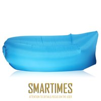 Wholesale Sun Lounger Wholesale - outdoor inflatable lounger Air Sleep sun Couch lounge Portable Furniture Sleeping bag Inflate Air Bed Imitate External Internal PVC
