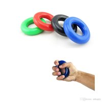 Wholesale pro hands free - Free DHL Gripping Ring Pro Trainer Hand Grip Forearm 35KG Strength Gripper Exercise Fitness Body Building Hand Expander Training