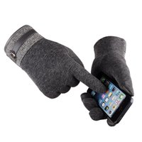 Wholesale Couple Gloves - Cashmere gloves touch-screen couple wasn't men fall winter driving gloves cycling business casual styles