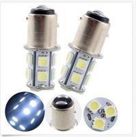 luzes de campista 12v venda por atacado-50 PCS Branco 1156 Lâmpadas 13SMD LED RV Camper Trailer 1141 Lâmpadas Interior 13SMD 12V atacado