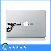 Wholesale Macbook Pro Skin Retina - For macbook pro skin sticker cover Gun Pattern laptop decals for macbook 12 retina macbook air pro retina 11 13 15inch laptop stickers