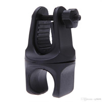 Wholesale 360 Degree Rotatable Cycling Grip Mount Bike Clamp Clip Bicycle Flashlight LED Torch Light Lamp Holder