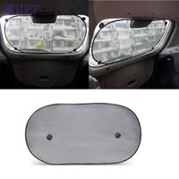 Wholesale Car Rear Window Sunshade - Wholesale- Dropship wupp Top Quality car-styling car-covers Tech Car Rear Window Sunshade Sun Shade Cover Visor Mesh Shield New Aug.9