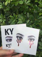 Wholesale Cheap Matte Eyeshadow Palettes - Kylie Cosmetics BURGUNDY Eyeshadow PALETTE Eyeshadow 9 colors Eye Shadow Palette DHL free shipping cheap price new version