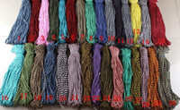 Wholesale Parachuting Cord - Fashion Hot Paracord 550 Paracord Parachute Cord Lanyard Rope Mil Spec Type III 7 Strand mix colors