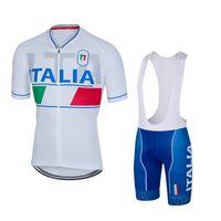 Wholesale Cycling Bibs Italia - Italia 2016 Short Sleeves Cycling Jerseys With Pad Gel Bib None Bib Pants Bike Wear Size XS-4XL For Men Women Bicycle Clothing