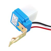 Haute Qualité 12V 10A Auto DC AC Sur Off Photocell Street Light Photoswitch Sensor Switch Hot Ventes 3pcs