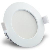 Wholesale Down Light Embedded - 50PCS 10W 2835SMD Driverless Dimmable LED Down Light AC110-120V 220-240V LED Commercial Lamp Embed Recessed LED Lighting Fixtures 100LM W
