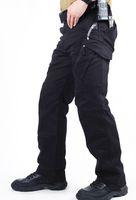 Wholesale Ykk Military Zippers - Wholesale-Urban Tactical Pants IX9 Mens Military Combat Assault Outdoor Sport SWAT Training Army Trousers 97% cotton 3% Spandex YKK zipper