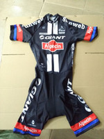 Wholesale Giant Skinsuit - MEN'S CYCLING WEAR CYCLING JERSEY SKINSUIT 2016 GIANT ALPECIN PRO TEAM BLACK SIZE: XS-4XL