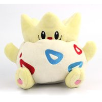Wholesale Rare Video Games - 20cm Pocket Monster TOGEPI Cute Stuffed Plush Toys Soft Doll Toy Rare New L Japanese Anime Gift For Baby Kids Christmas Present
