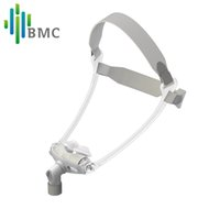 Wholesale pillow machine - BMC WNP Nasal Pillows CPAP Mask For CPAP Machine 100% High Quality Interface Size SML Adjustable Headgear Comfortable Pad