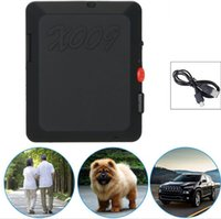 Wholesale Pet Photography - 2017 X009 Mini GPS Tracker Children Pet Car Tracking GSM GPRS Global Locator Real-Time Tracker With SOS Button SMS Photography Video