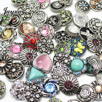 Wholesale Gray Metal South - 50pcs lot Mix High quality hot wholesale Many styles 18 20mm Ginger Snaps Buttons Metal Snap Button for ginger snaps jewelry GS1208135-MIX