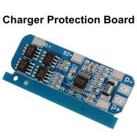 ingrosso bordo bms-Freeshipping 3pcs \ Lot 50x21x1mm 10A BMS Caricatore Protection Board per confezione da 3 18650 Li-ion batteria al litio